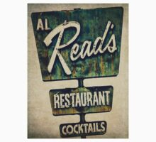Al Read's Restaurant Vintage Sign Kids Clothes