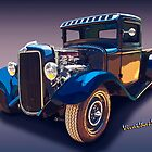 34 Ford Rat Rod Pickup has No Leg Room at All by ChasSinklier