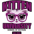 Kitten University - Purple by Adamzworld