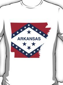 Arkansas | Flag State | SteezeFactory.com T-Shirt