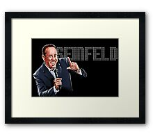Jerry Seinfeld - Comedy Legend Framed Print