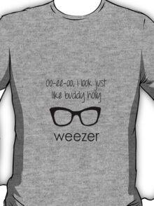 I'm Buddy Holly - Weezer T-Shirt