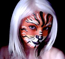 Tiger Face by Creationsviaamy