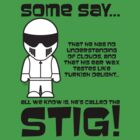 The Stig - No understanding of Clouds by jimcwood