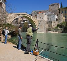 The Bridge at Mostar. by MigBardsley