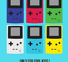 Old School Game Boy Color - only for cool kids by alish