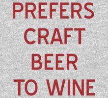 Craft Beer to Wine T-Shirt- CoolGirlTeez T-Shirt