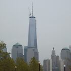 New World Trade Center, View from Liberty State Park, New Jersey by lenspiro
