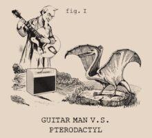 Guitar man vs Pterodactyl by MalvadoPhD
