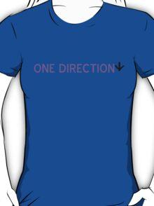 One Direction (down) T-Shirt - CoolGirlTeez T-Shirt