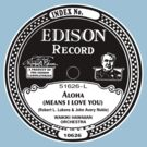 Aloha Edison record label  by BrBa
