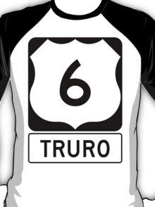 US 6 - Truro Massachusetts T-Shirt
