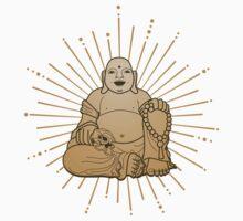 Laughing Buddha by redblackberries