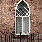 Old Fashioned Window by Jan  Tribe