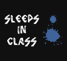 Sleeps in class by Elijah Gomez