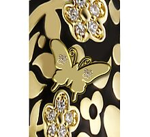 ?????GOLDEN BUTTERFLY IPHONE CASE A TOUCH OF ELEGANCE ????? by ✿✿ Bonita ✿✿ ђєℓℓσ