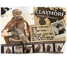 Claymore's Character Sheet (Scavengers Webseries) Poster