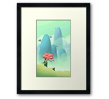 Eastern Breeze Framed Print
