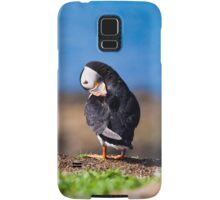 Puffin in Scotland  Samsung Galaxy Case/Skin