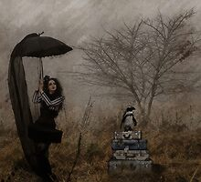 Taxi? Gothic Surrealism by Galen Valle