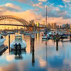 Sunrise over Lavender Bay HDR 1 by Jennifer Bailey