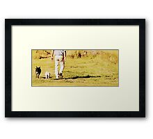 Friends ,,,,, Framed Print