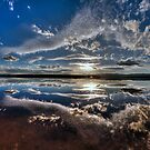 Moulting Lagoon-pano by Kip Nunn