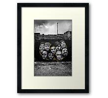 Wu Tang Clan ain't nuthing ta F' with Framed Print