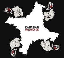 Kasabian Velociraptor Tour by BlackWater