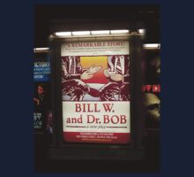 Bill W. & Dr. Bob, NYC subway station by Ellen Turner