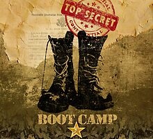 boot camp iPhone case by toddalan