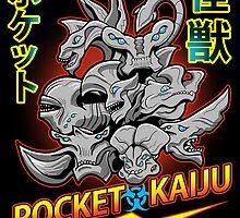 Pocket Kaijus by zerobriant