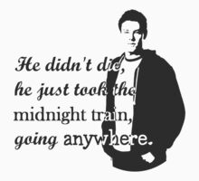 "Cory Monteith ""He didn't die"" by ShiningHoney"