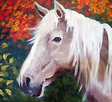 Blondie in the Fall by Anne Guimond