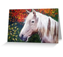 Blondie in the Fall Greeting Card