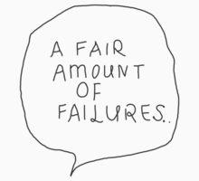 a fair amount of failures by elliemuggs