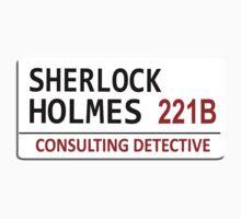 Sherlock Holmes Street Sign T-Shirt