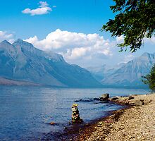 Glacier Lake, Montana by Katya laRoche