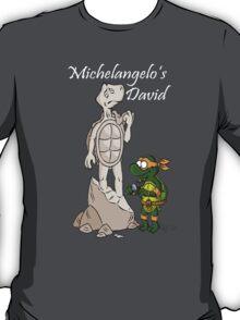 David by Michelangelo  T-Shirt