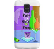 Party Girl Samsung Galaxy Case/Skin