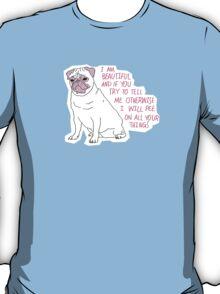 Sassy Pug T-Shirt