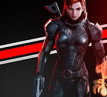 Mass Effect - Femshep Case by Susanwolf