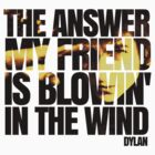 Bob Dylan blowin' in the wind  by jackthewebber