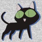 trigun cat by flamborchid
