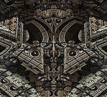 Gothic Steampunk Structure by xzendor7