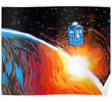 Time Travel Tardis Poster