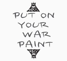 Put on your war paint– Fall Out boy by salvva
