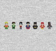 Pixel League of Justice by PixelAvenger