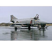 McDonnell F-4M Phantom FGR.2 XV423/D at RAF Stanley Photographic Print