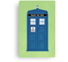 DOCTOR WHO. Canvas Print